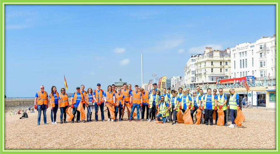 Belgrave House - LRS Sustainability - Beach Clean Up 2