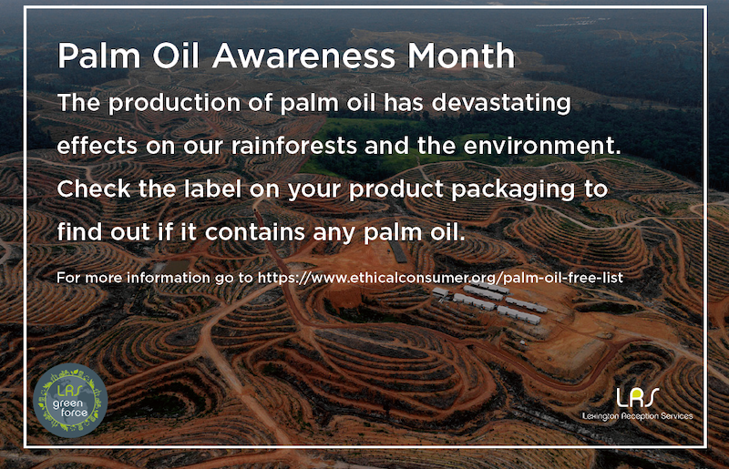 Palm Oil Awareness Month